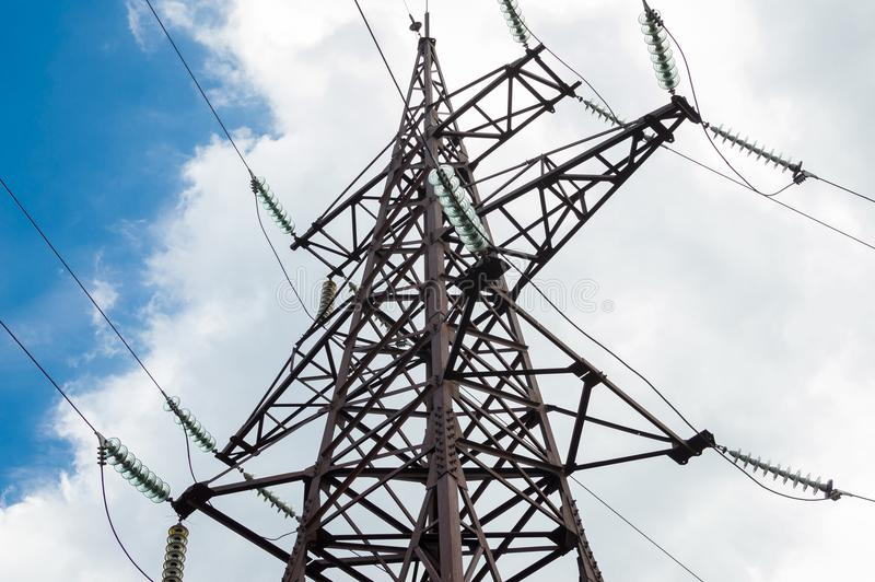 Current and electricity stock image