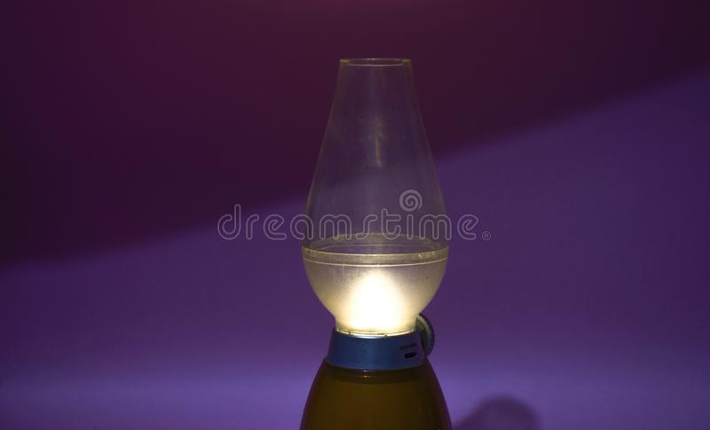 CURRENT LAMP MAKE DIFFERENT VIBE stock photography