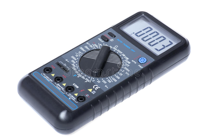Download Current Measuring Tool Macro Royalty Free Stock Photos - Image: 13513838