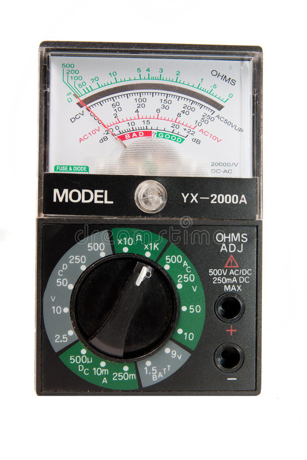 Download Current meter stock photo. Image of meter, current, resistor - 13694542