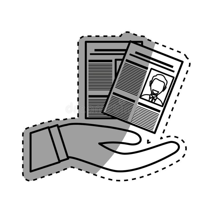 Download Curriculum Vitae D'affaires Illustration Stock - Illustration du personnel, paragraphe: 87703689