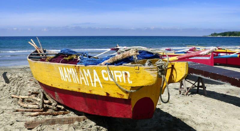 Currimao fishing boats.FZ200. royalty free stock photo
