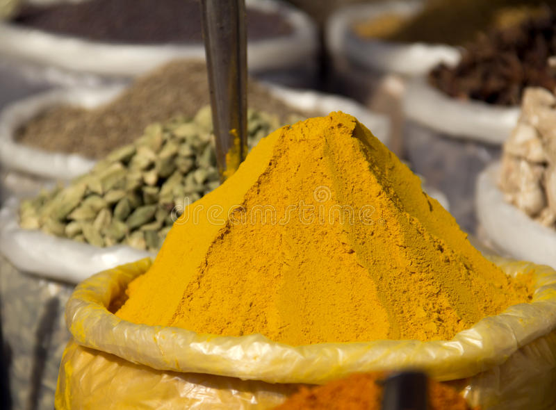 Download Curry stock photo. Image of cooking, exotic, color, market - 23402364