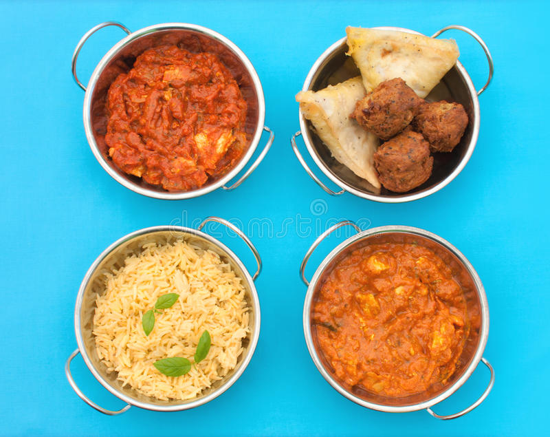 Download Curry arkivfoto. Bild av rice, indier, samosa, varmt - 27282146
