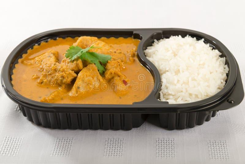 Curry asportabile immagine stock