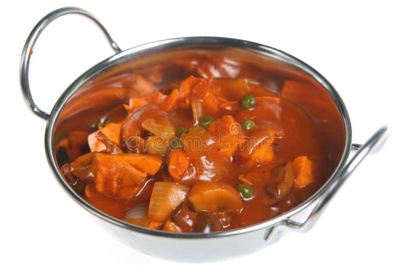Curry cinese del pollo immagini stock libere da diritti