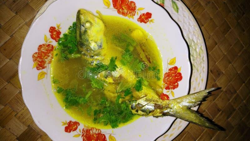 Curry de los pescados imagenes de archivo