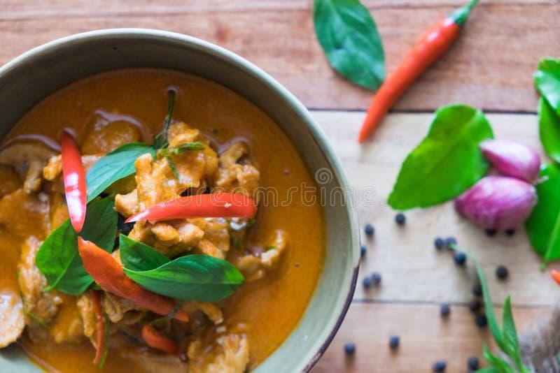 Curry de Panaeng del cerdo imágenes de archivo libres de regalías