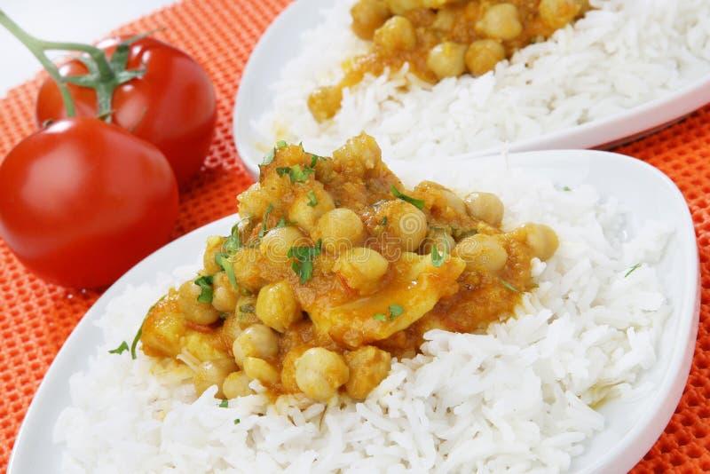 Curry dei pesci fotografie stock