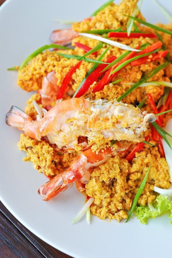 Curry del camarón fotos de archivo libres de regalías