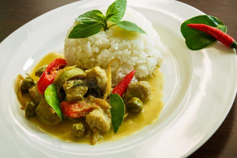 Curry del pesce immagini stock libere da diritti