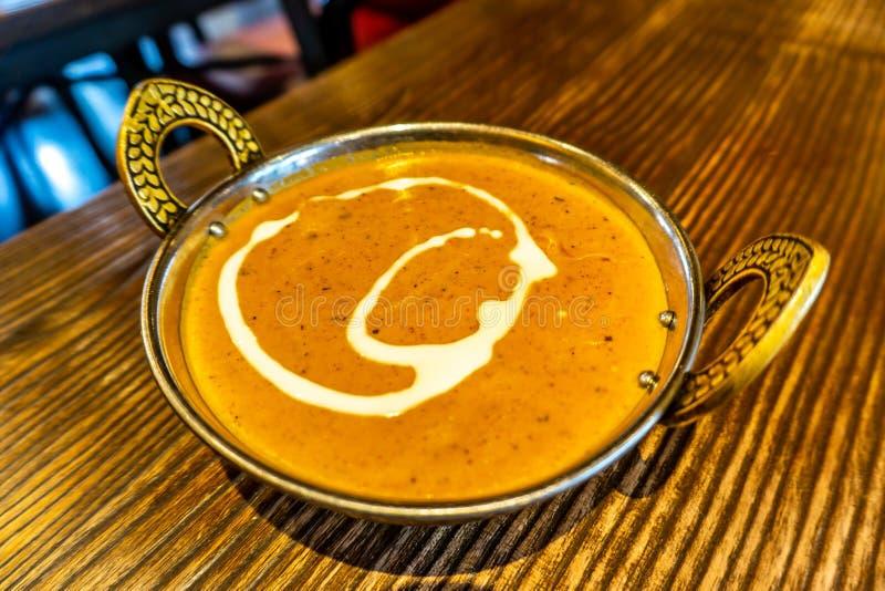 Curry del pollo de la mantequilla imágenes de archivo libres de regalías
