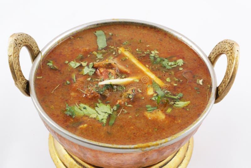 Curry della carne di capra immagini stock libere da diritti