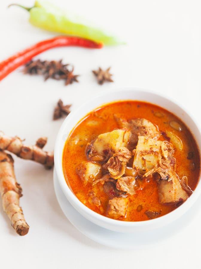 Curry di Masaman fotografia stock