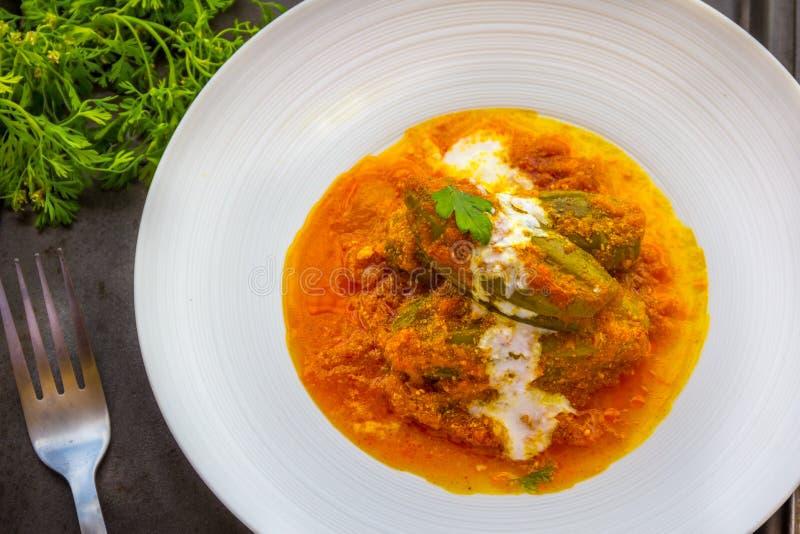 Curry di Veg dell'indiano immagine stock