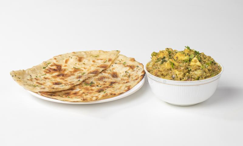 Curry di Veg Jaipuri fotografie stock libere da diritti