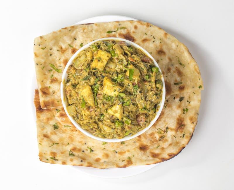 Curry di Veg Jaipuri fotografia stock