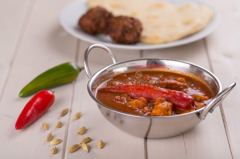 Curry di Vindaloo immagini stock libere da diritti