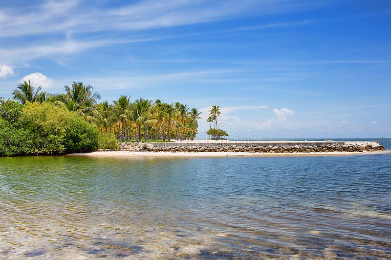 Curry Hammock State Park. A seaside view of Curry Hammock State Park in the Florida Keys stock photo