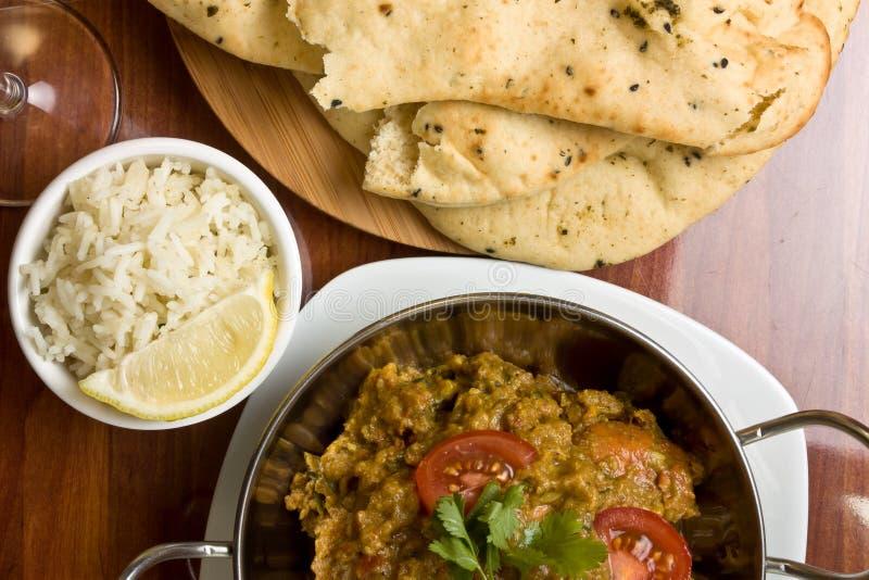 Curry indiano fotografia stock