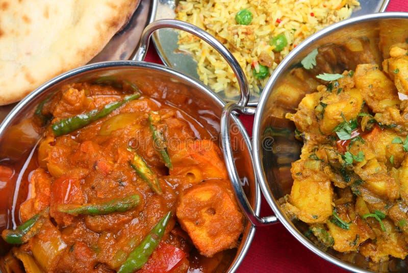 Curry indiano fotografie stock libere da diritti