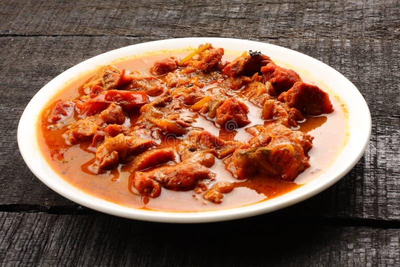 Curry indiano del montone fotografie stock libere da diritti