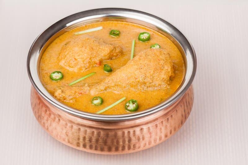Curry indiano del pollo fotografia stock libera da diritti