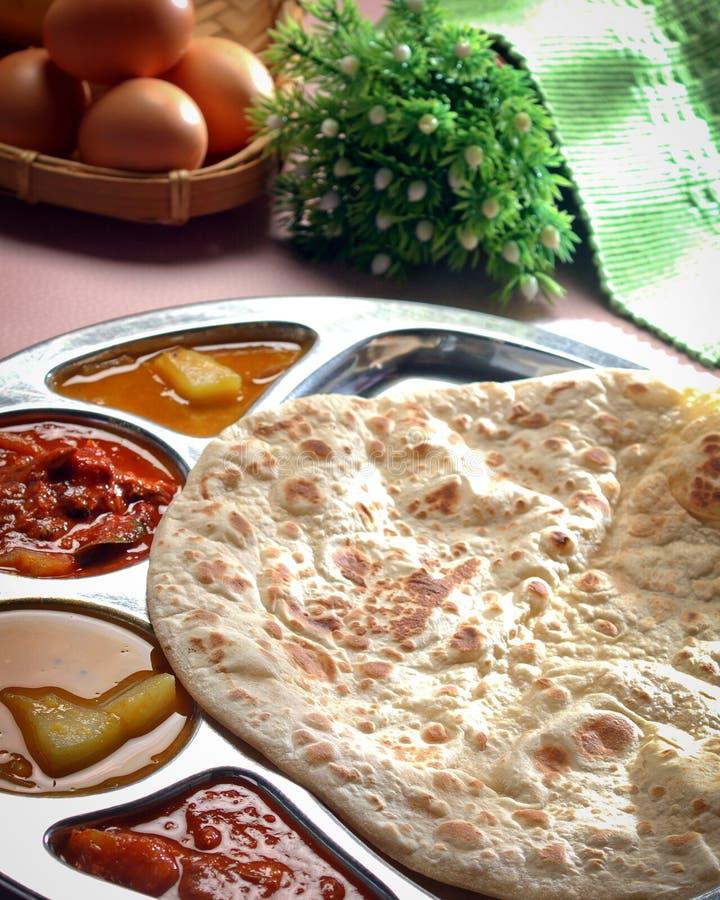 Curry indio del pollo fotos de archivo