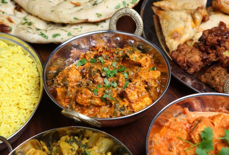 Curry indio del pollo foto de archivo libre de regalías