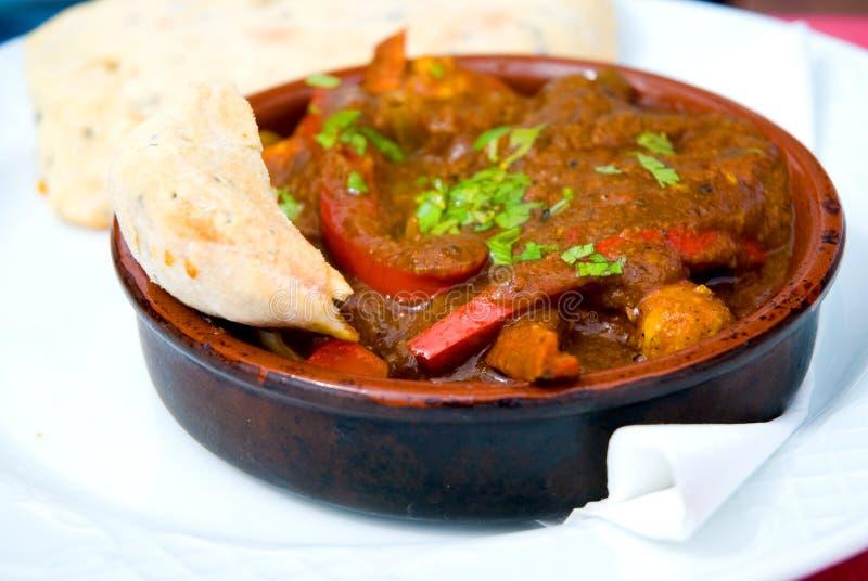 curry indyjski tajskie jedzenie zdjęcie stock