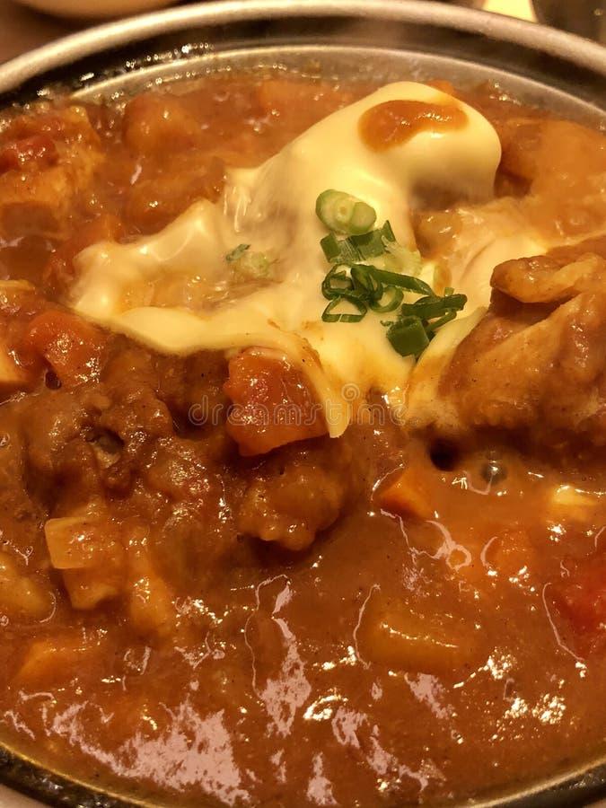 Curry japonés delicioso fotografía de archivo libre de regalías