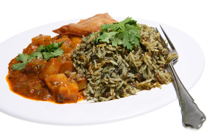 Curry Night royalty free stock photo