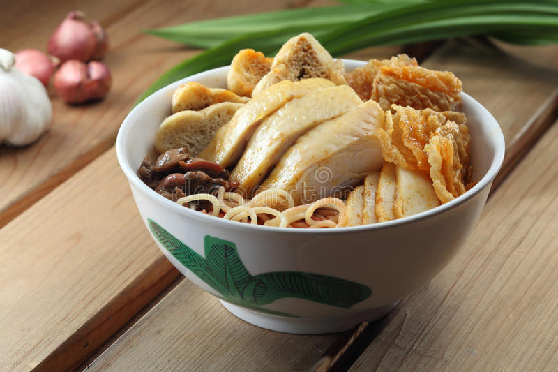 Download Curry Noodle stock image. Image of chinese, bowl, onion - 22550501