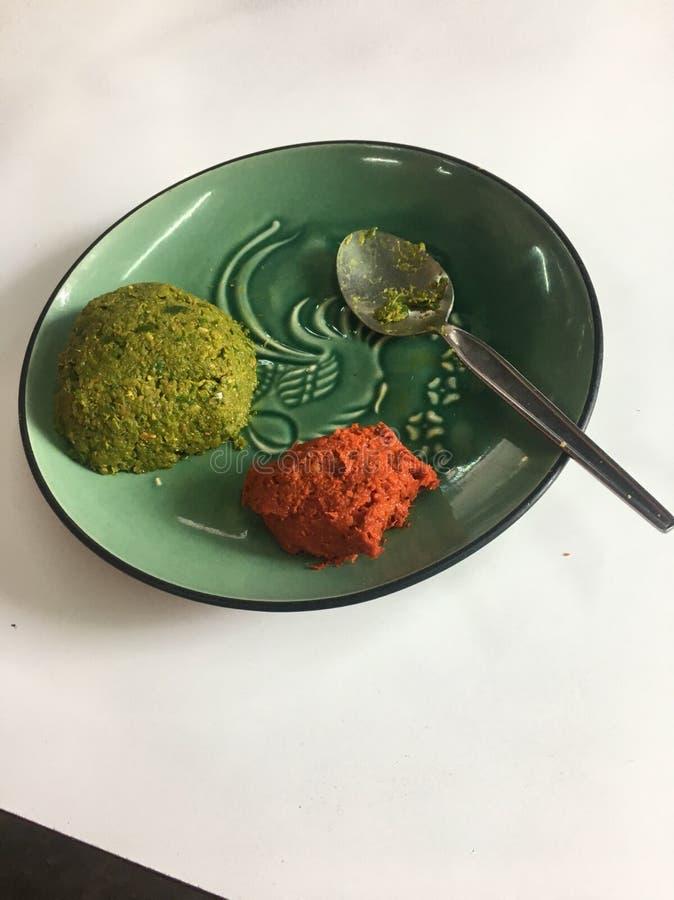 Curry pasta fotografia royalty free