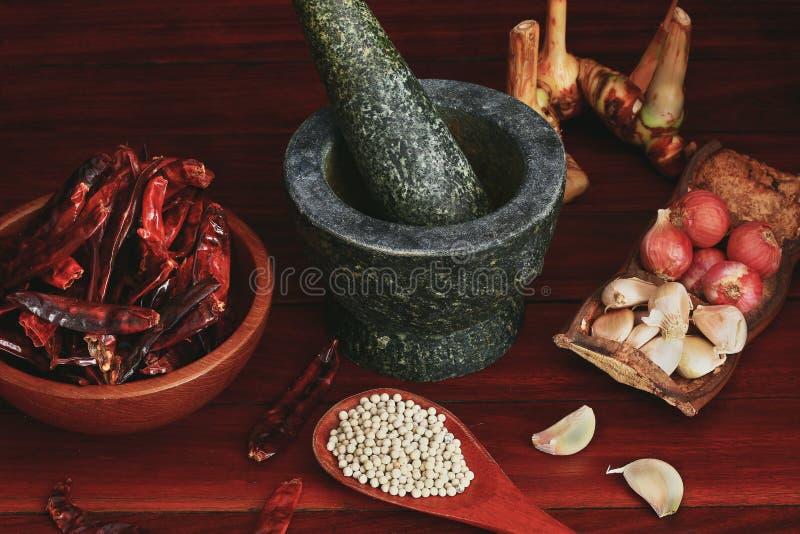 Curry-Paste stockfoto