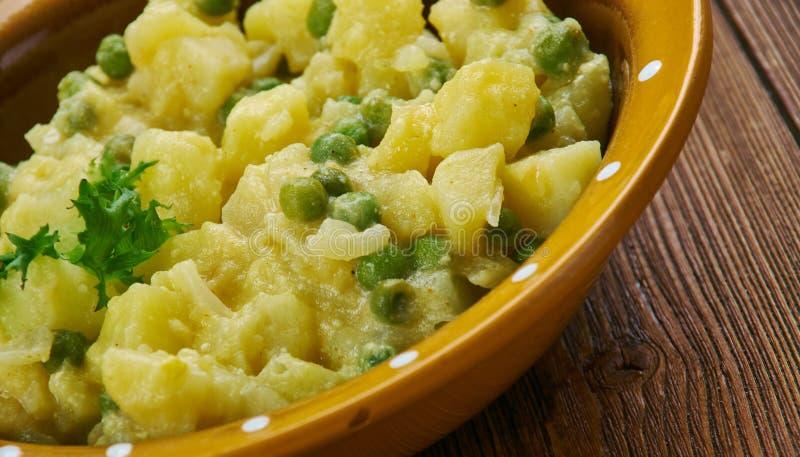 Curry picante jamaicano de la patata fotos de archivo libres de regalías