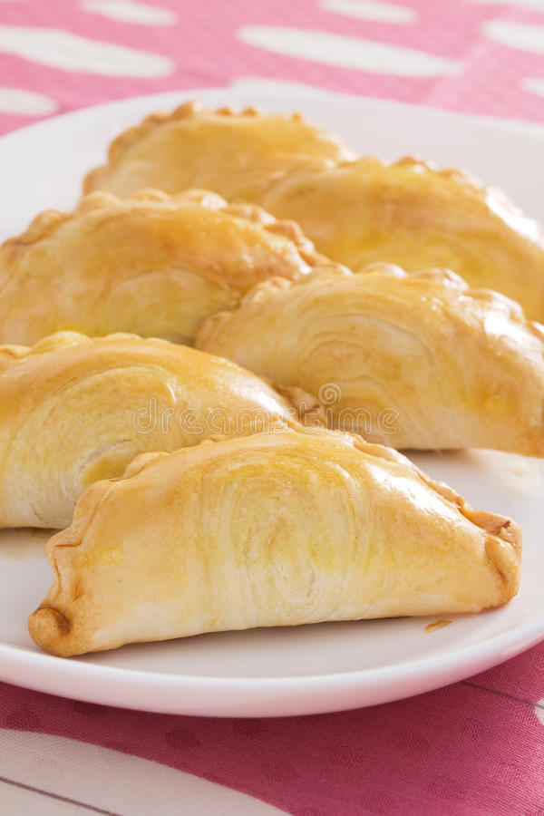 Curry Puffs royalty free stock images