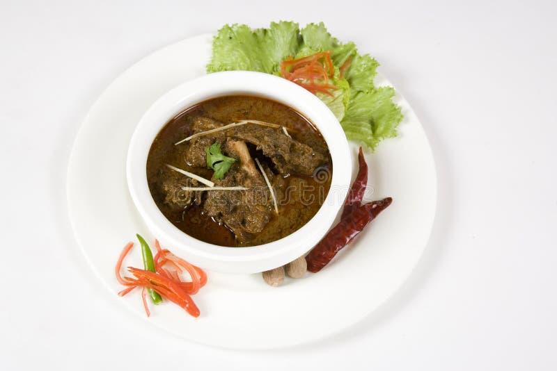 Curry Rogan Josh or Bhuna Gosht royalty free stock photo