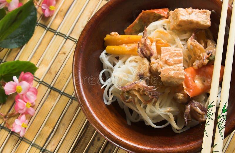 Curry tailandese fotografia stock