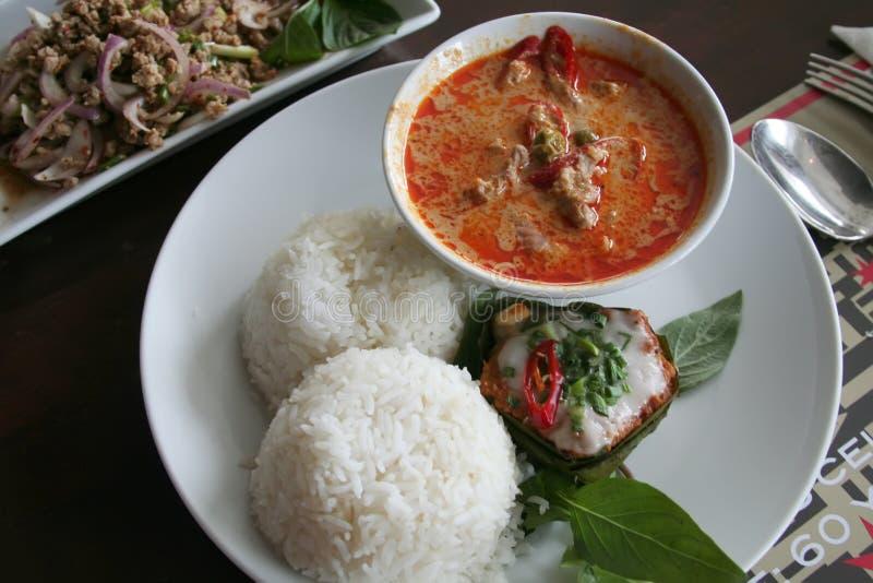 Curry tailandese fotografia stock libera da diritti