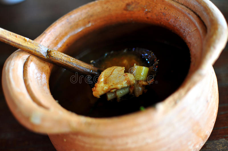Curry tailandese immagine stock