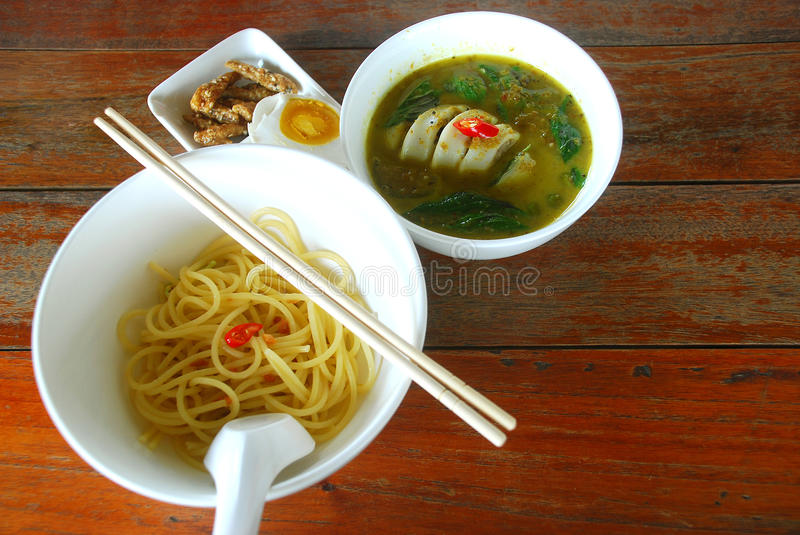 Curry of thai food stock photography