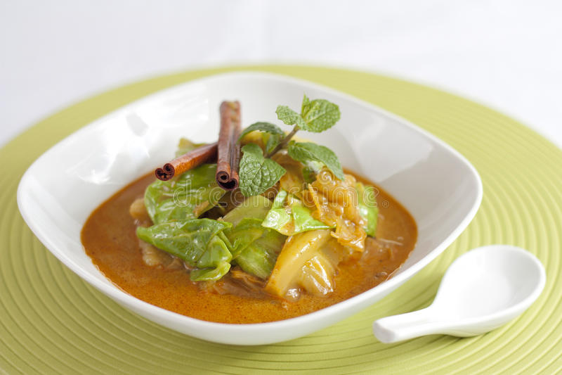Curry Vegetable stock images