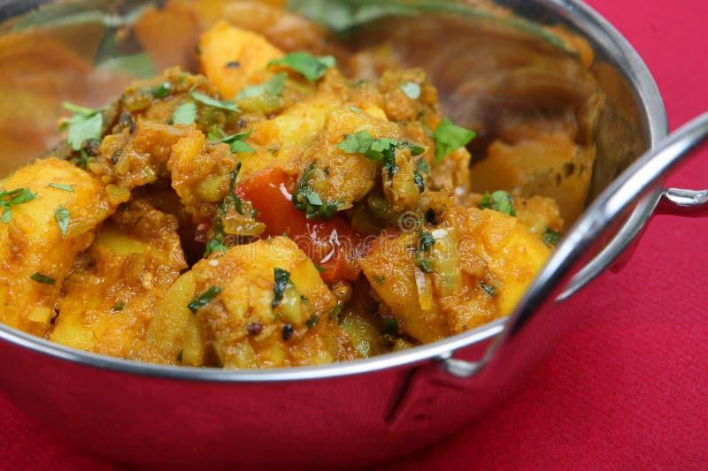 Curry vegetal imagen de archivo