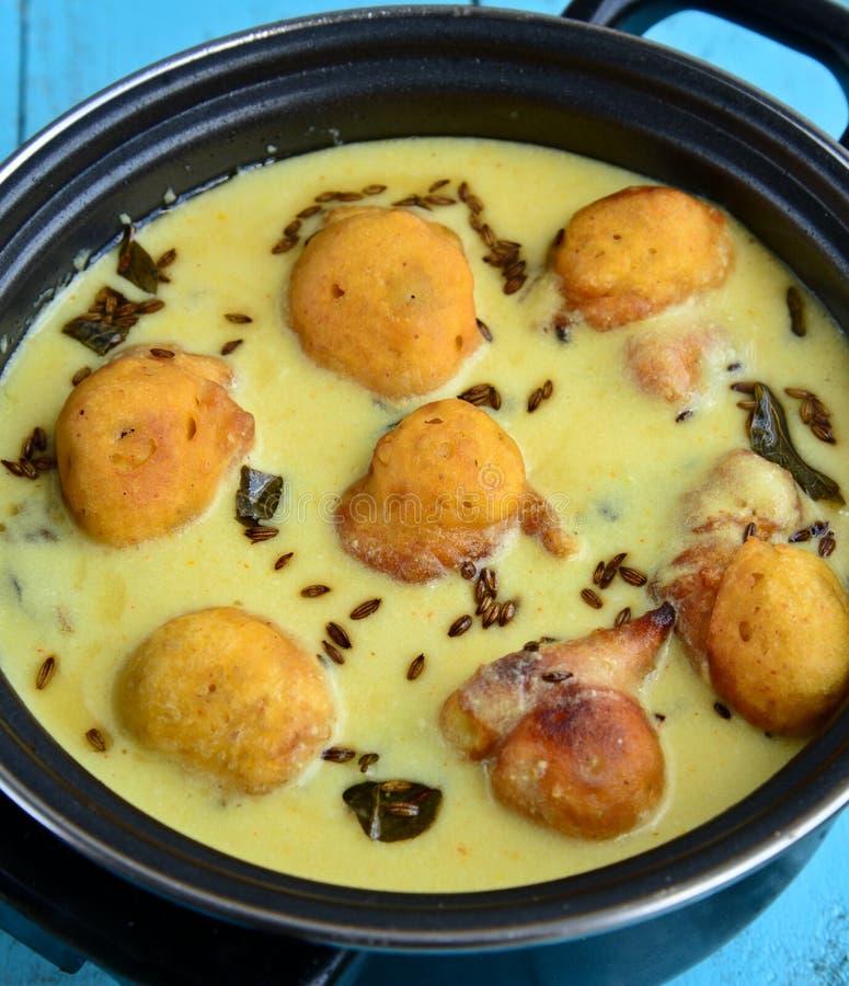 Curry vegetariano indiano fotografie stock libere da diritti