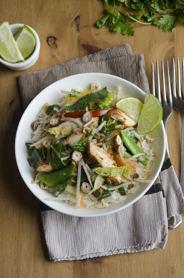 Curry verde tailandese fotografia stock libera da diritti