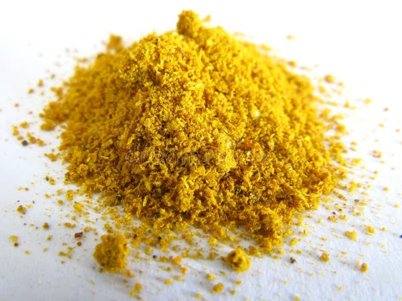 Currypulver stockfoto