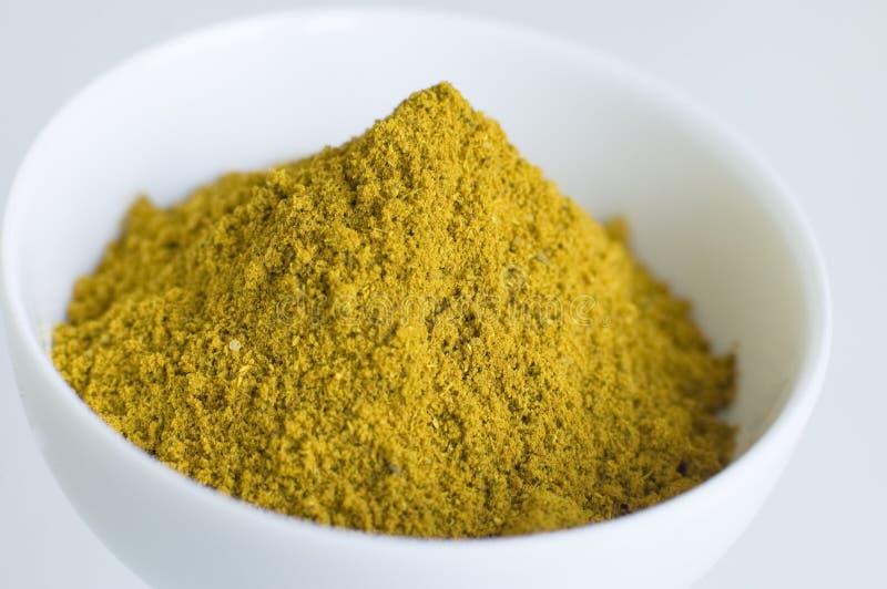 Currypulver lizenzfreies stockfoto