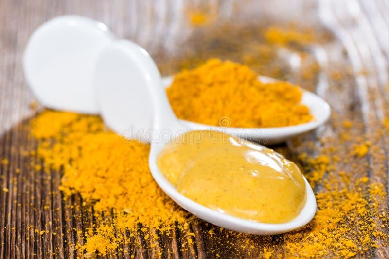 Currysås arkivbild