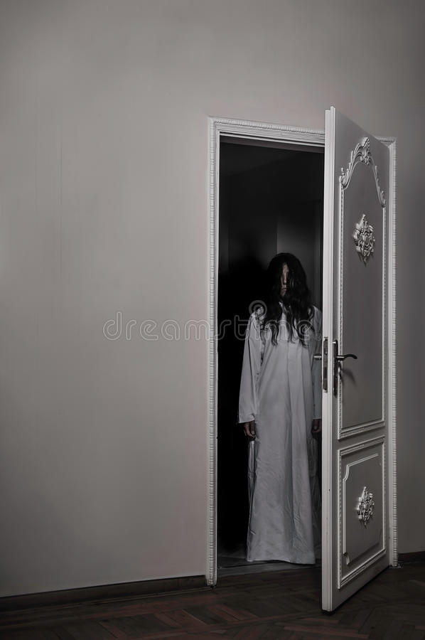 Cursed Horror Girl stock images